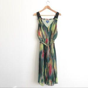 Simply Vera Wang Chiffon Tie Dress Sz XL